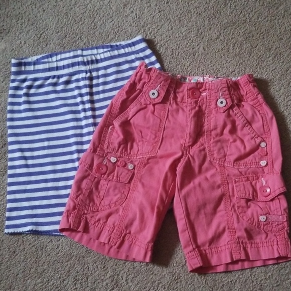 Faded Glory Other - 2 pairs of girls size 6 shorts